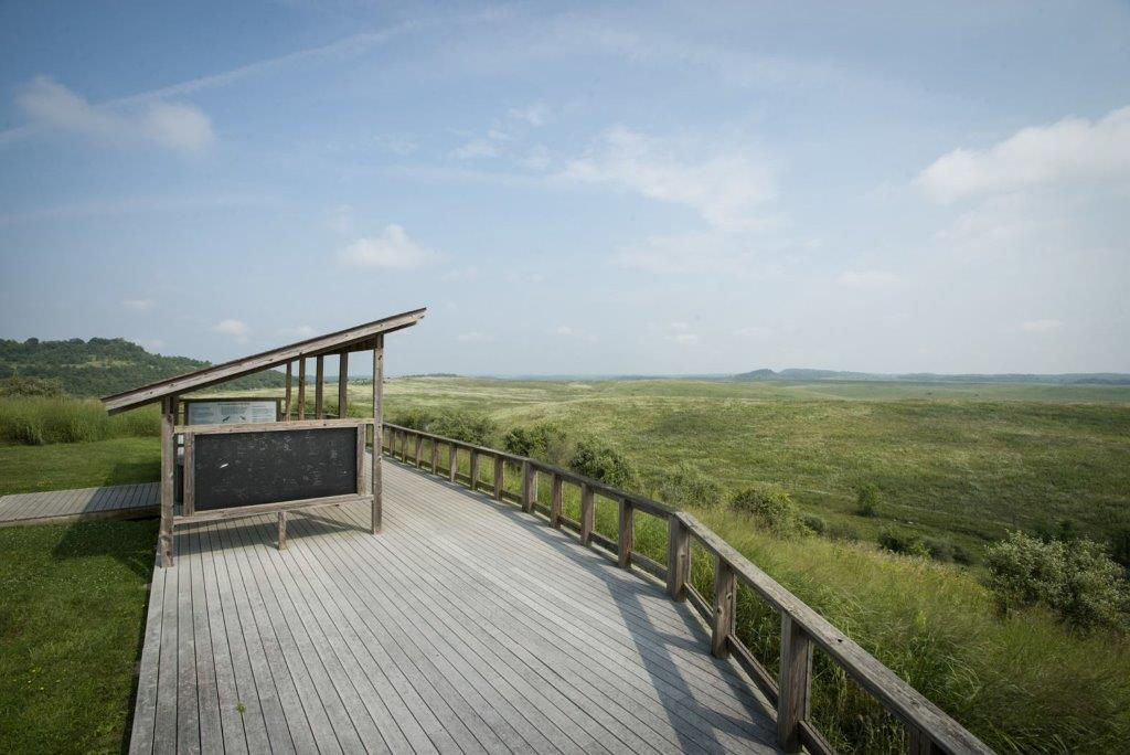 Birding Station at Jefferey Point