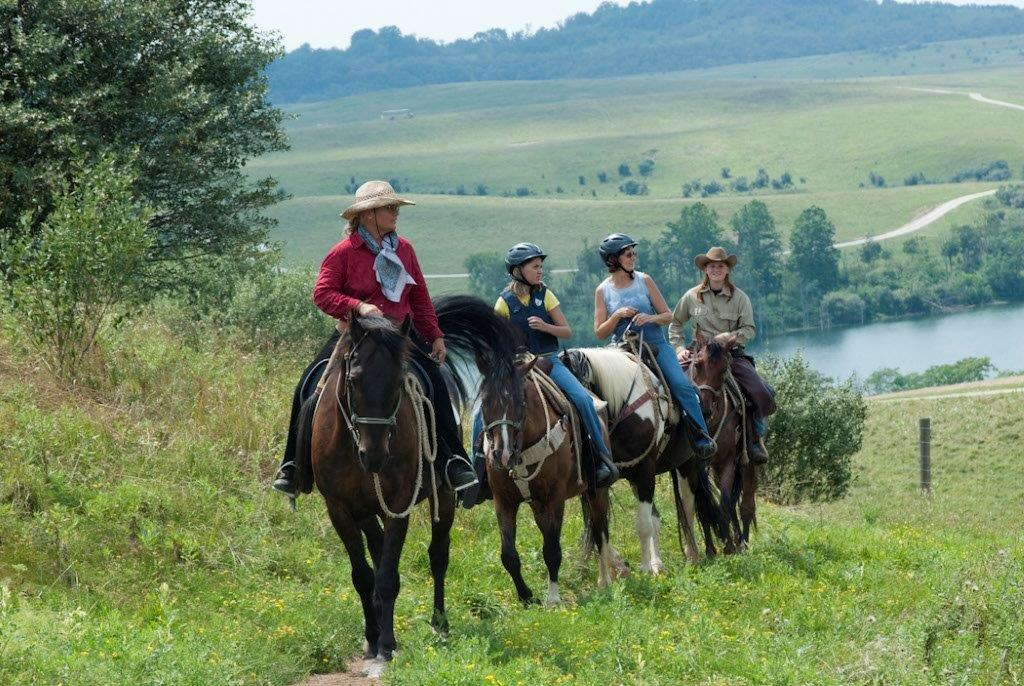 Horseback Riding Safari at the Wilds