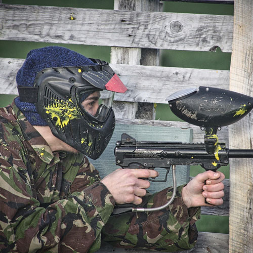 Markem Out Paintball