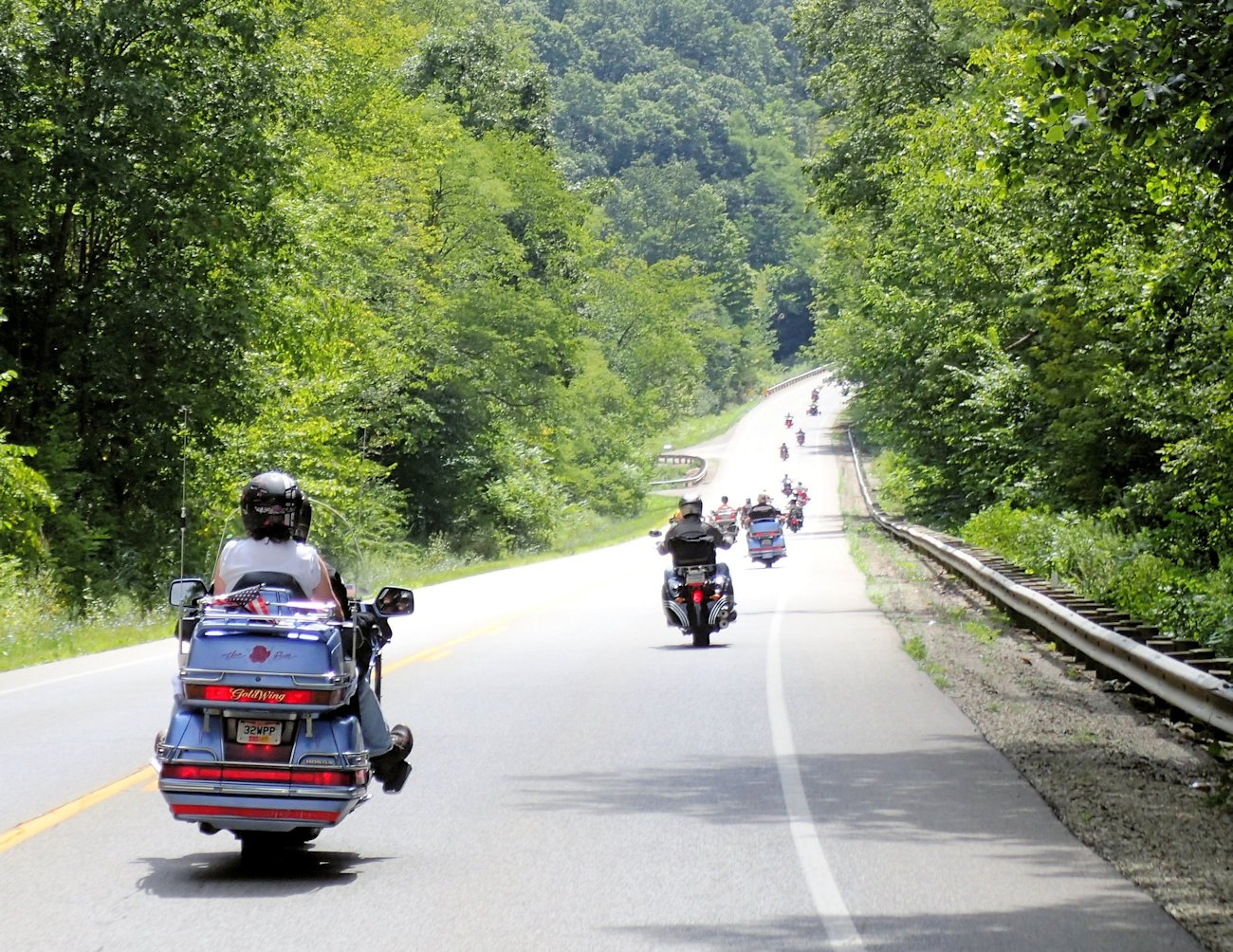 Triple Nickle Motorcycle Tour