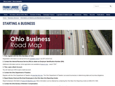 Facts About Starting A Business In Ohio Revealed